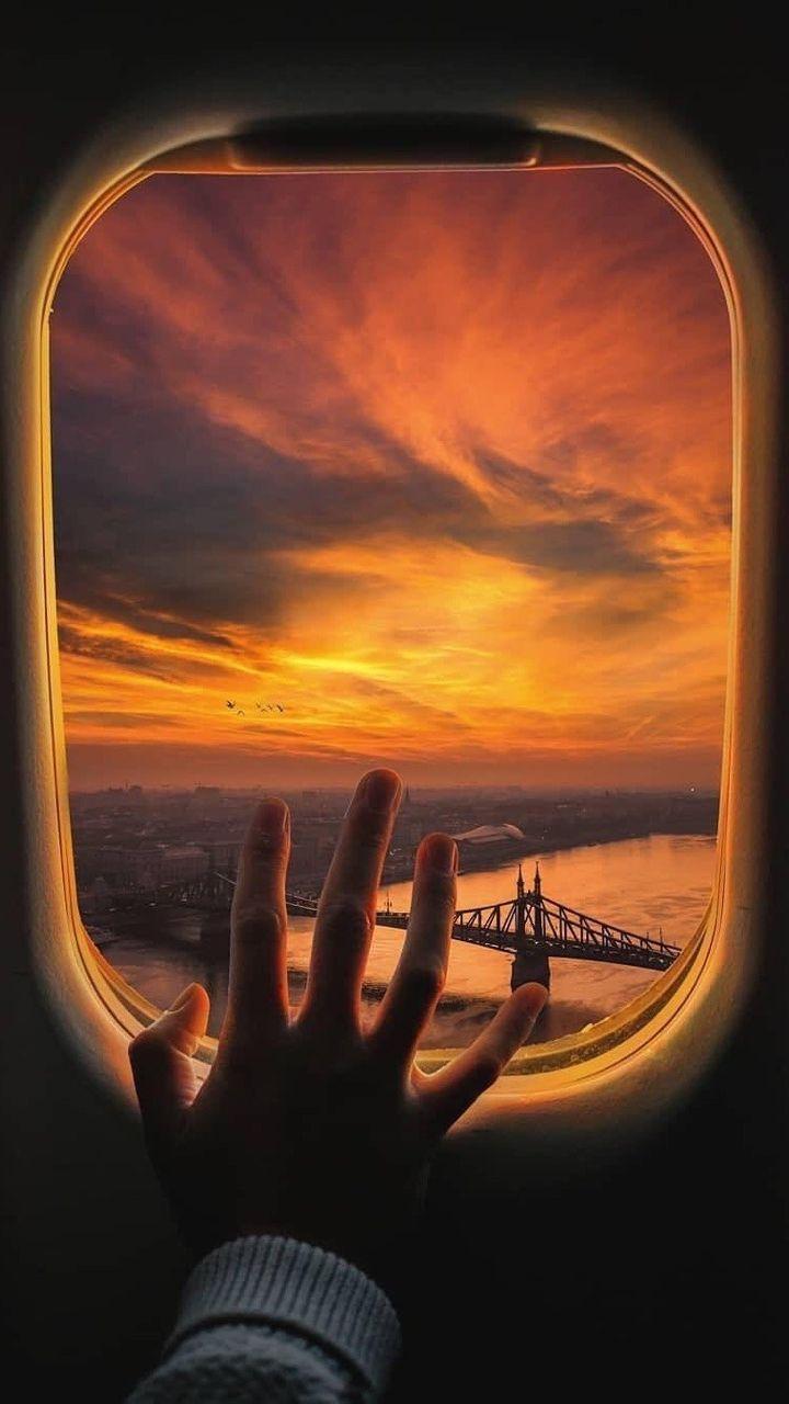 Plane Window View Iphone Wallpaper Plane Window View Window