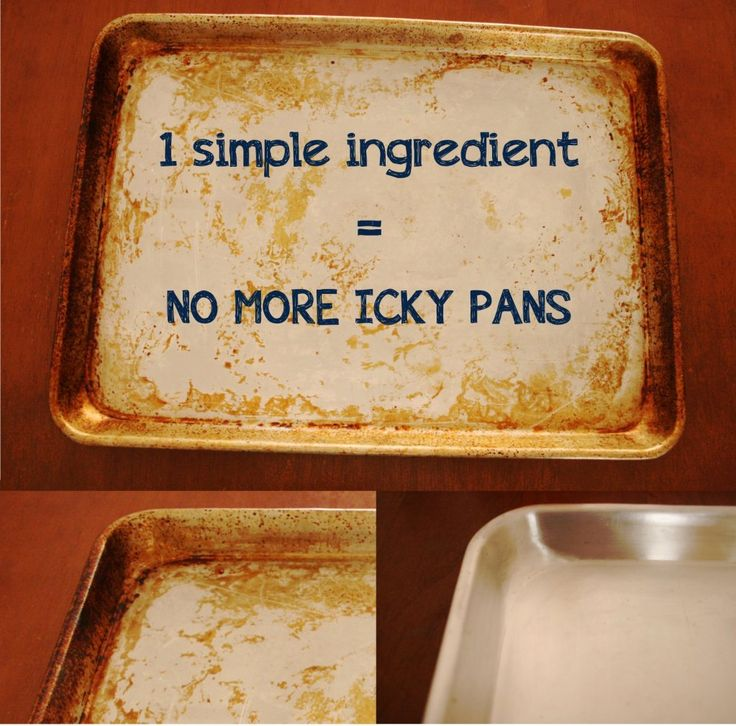 Use Tea Tree Oil to shine up sticky pans