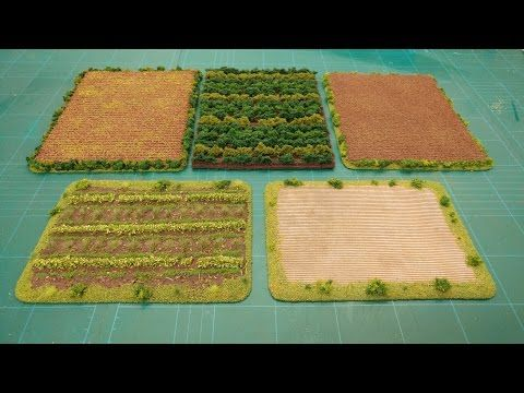 Let's Make - Farm Fields (Countryside Scenics Series) - YouTube