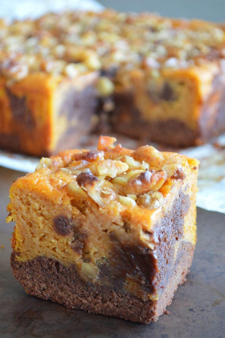 My Simple Cuisine: Dyniowe brownie/ Pumpkin brownies