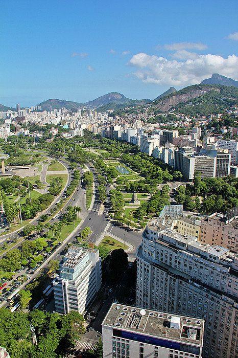 View Of Aterro Do Flamengo, Rio de Janeiro, Brazil By Ruy Barbosa Pinto