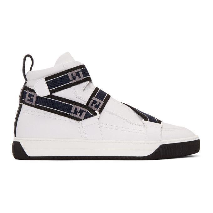 mens fendi high top sneakers