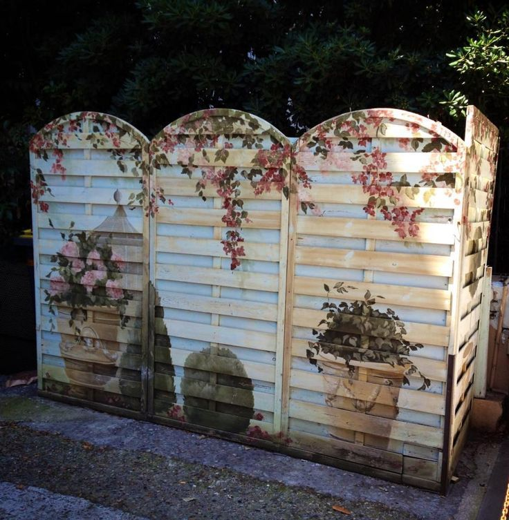 Image result for how to build a free standing pallet wall for Free standing fence diy