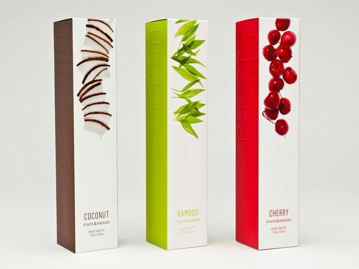 "Lovely cosmetics packaging design. ""Fruits and passion"""
