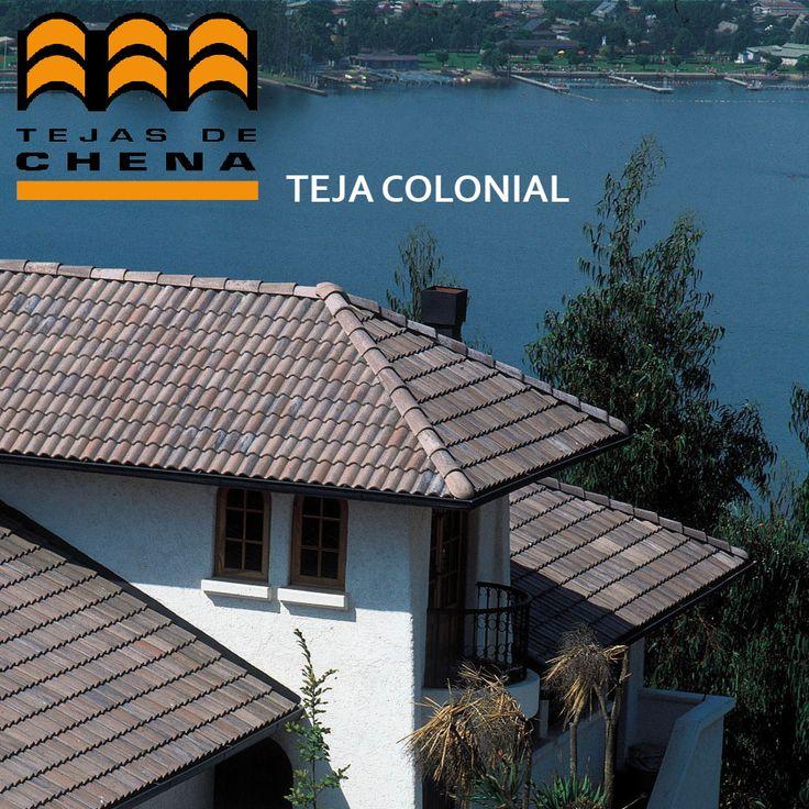 Teja de Hormigón Colonial - Tejas de Chena