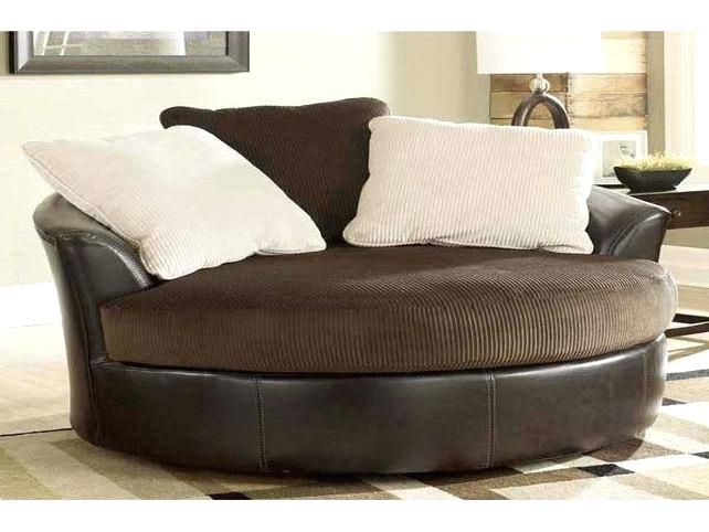 Large Swivel Chairs Living Room Unusual Round
