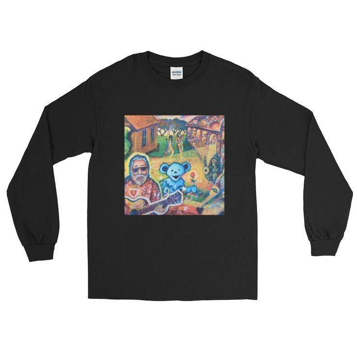 Long Sleeve Grateful Dead T-Shirt by Matthew Reilly The Carpenter Artist