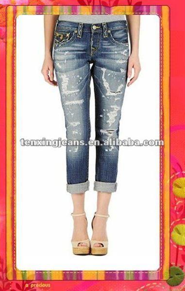 Джинсы и капри из джинсы