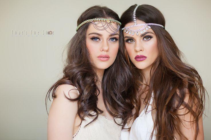 The Corker sisters HMUA : Babydolls Make Up Artistry Photography : www.ThatsTheShot.com.au