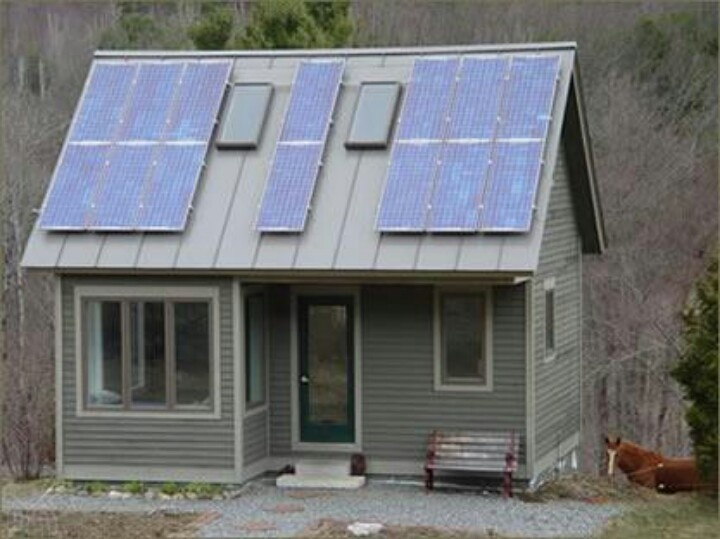 solar powered tiny house a simple life pinterest. Black Bedroom Furniture Sets. Home Design Ideas
