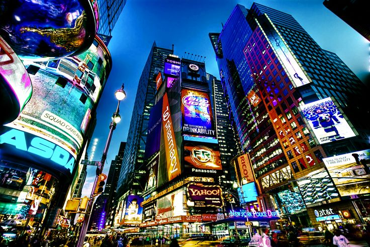 New York, New York.. Hoping to be here on NYE..