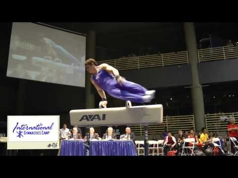 International Gymnastics Camp's #FlashbackFriday Alex Naddour on pommel horse - YouTube/// WOW! GONNA BE ONE TO BEAT!!!