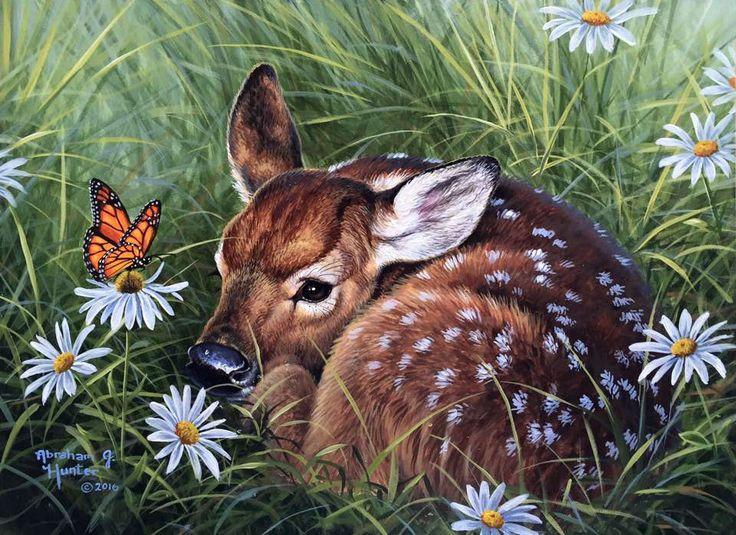 Животные красивые картинки для детей нарисованные