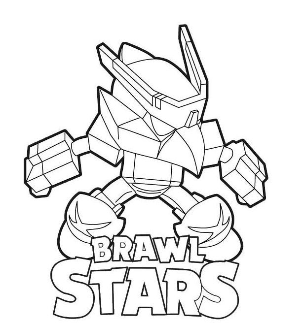 Coloriage Brawl Star