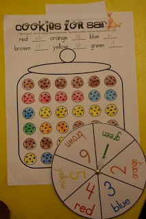 Could be B: buddy game or L: learning about numbers at beginning of school yr