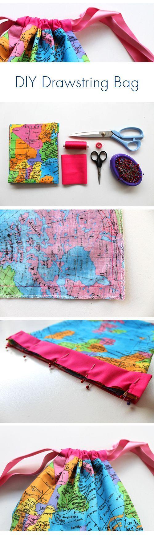 25 Unique Drawstring Bag Pattern Ideas On Pinterest