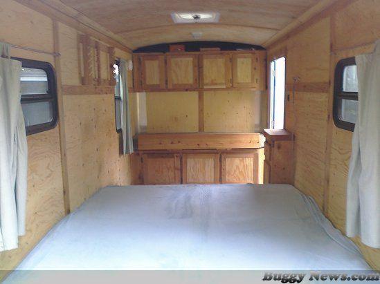 Build A Camper >> cargo camper conversion beadboard - Bing Images | cargo ...