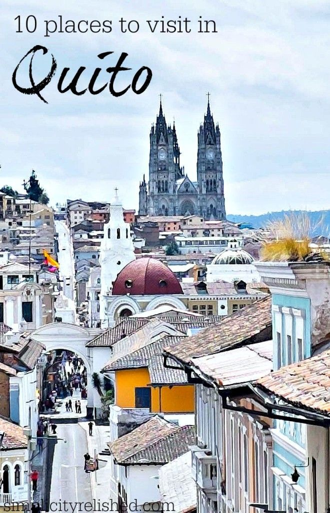 Going to Quito, Ecuador? Head straight for the historic center and check out these gorgeous places! Read more: 10 Places to Visit in Historical Quito Ecuador