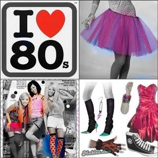 Años 80s: Moda Años 80s Inolvidables