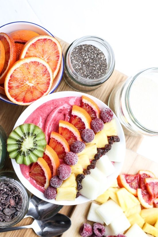 This Blackberry Banana Smoothie Bowl recipe from The Foodie Teen is one of our breakfast favourites. And topped with all that gorgeous summer fruit it's ready to instagram and devour!