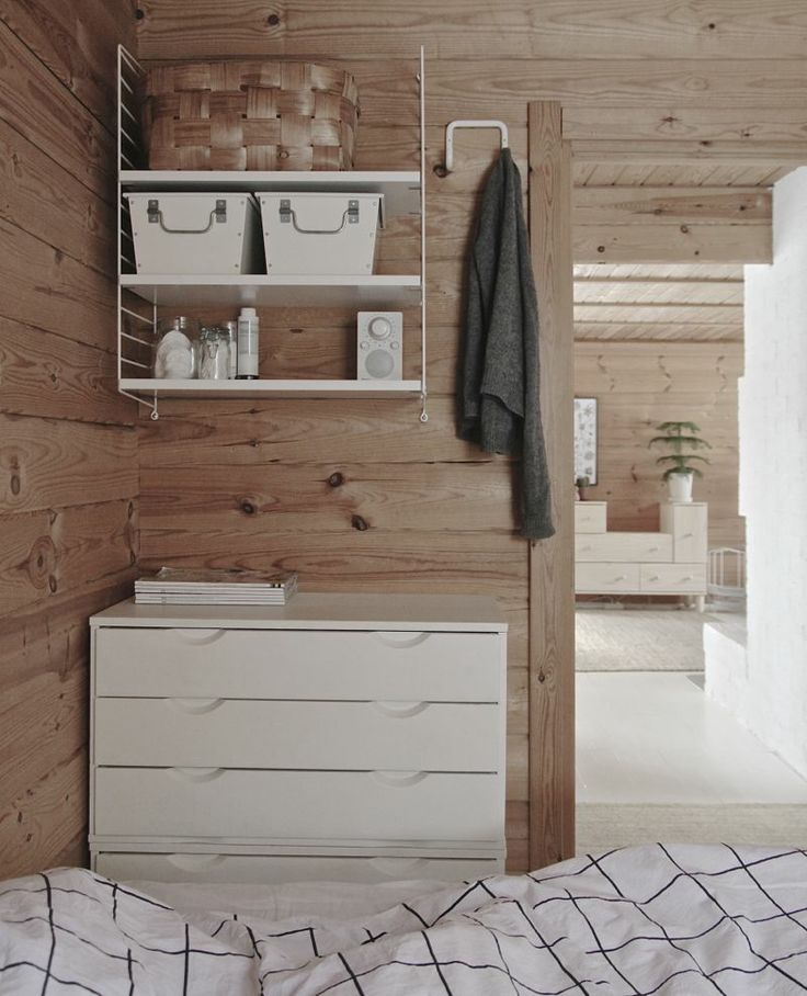 Wood, wood and white | Scandinavian Deko.