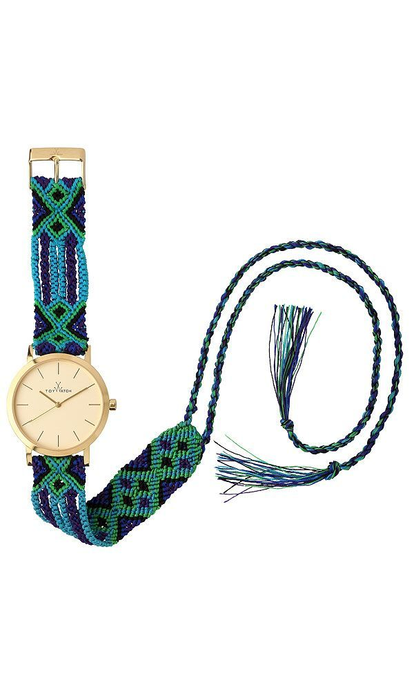 awesome Montre tendance : Friendship Bracelet Watches   Maya Watch Collection   ToyWatch USA...
