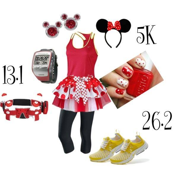 """""""Minnie Run Disney"""" by disneydreams on Polyvore"""