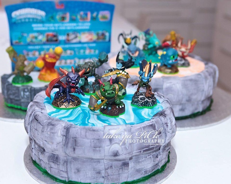 Best Skylanders Cakes Images On Pinterest Skylanders - Cake birthday games