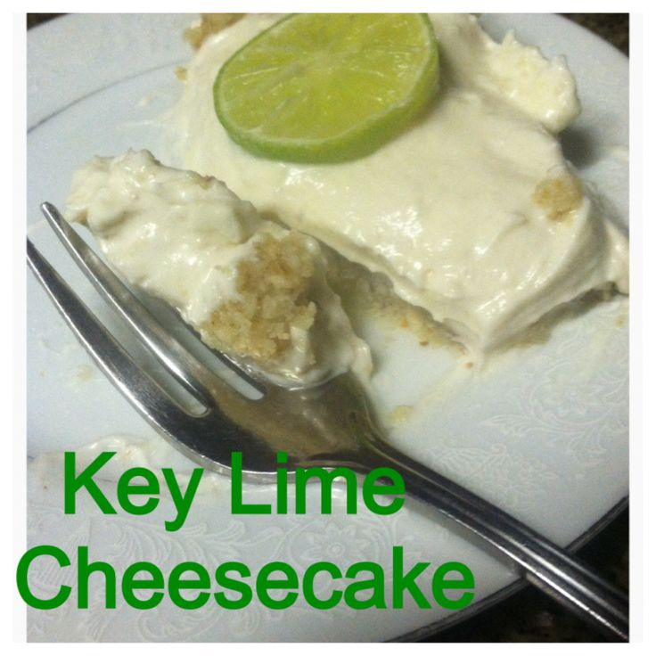 Key Lime Cheesecake-THM Inspired (S) Quick-No Bake! | Trim Healthy ...