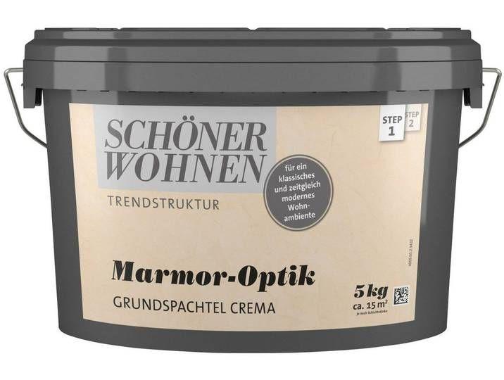 Schoner Wohnen Kollektion Schoner Wohnen Farbe Spachtelmasse Marmorop Kitchen Appliances Home Coffee Cans