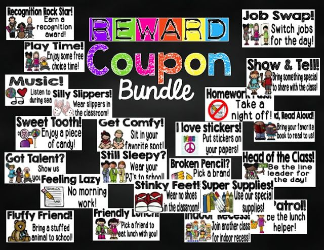 Classroom Reward Ideas That Don T Cost Money ~ Best ideas about classroom reward coupons on pinterest