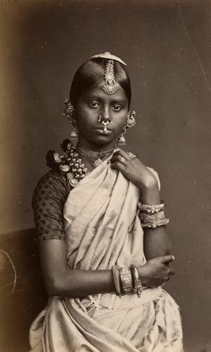 Traditional Tamil girl