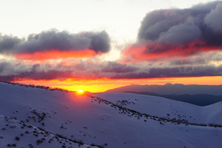 Sunset Mt Hotham
