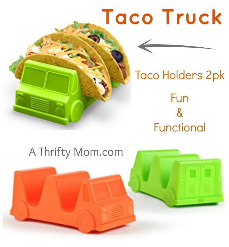 These are perfect for taco Tuesday. Taco Truck 2pk Taco Holders