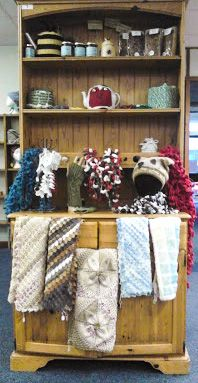 Jamtastic are based here in Prestatyn and sell local honey, homemade Bara Brith and lots of practical knitted and crocheted items.