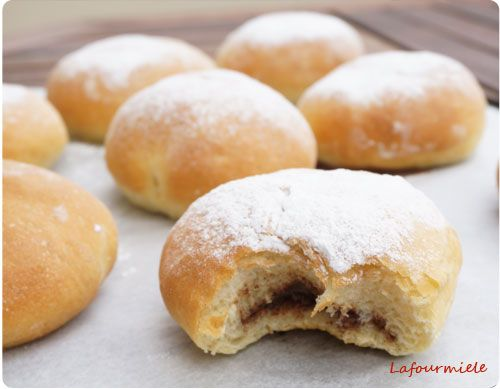 Testé et approuvé - beignets au four confiture ou chocolat