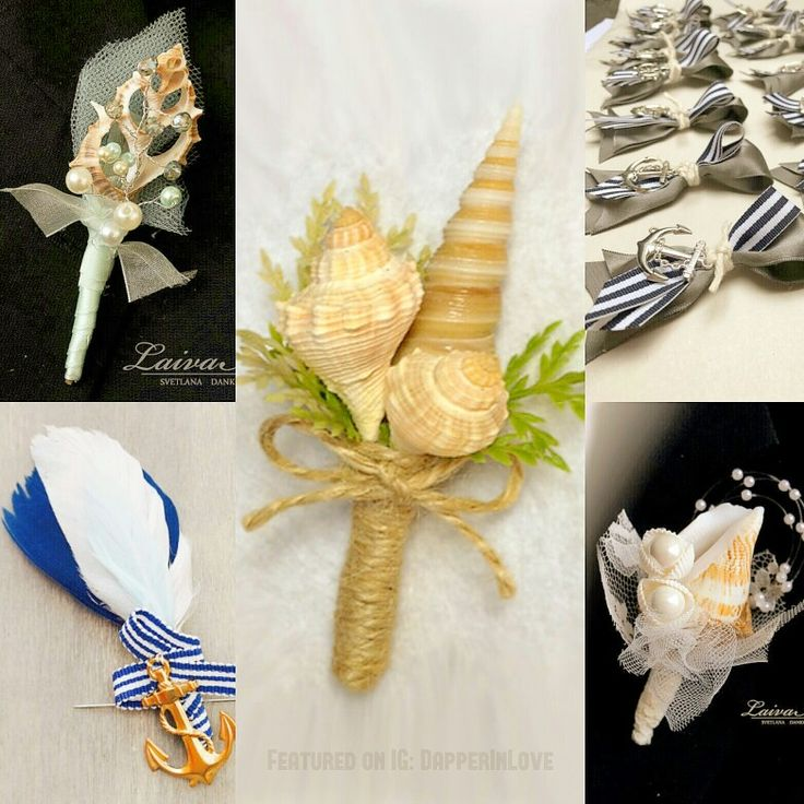 ✨🎩✨#Groom #Wedding Trends: Alternative Boutonnieres ✨ 3. 🌊 🚢 🐚⚓ #Nautical or #Beach-themed Boutonnieres...  {Follow Pinterest's photo link for full details! Photos via @somethingfloral, @laivaart, @lindenflowers & Euphorbia Floral Design via @etsy.}  #PutARingOnIt 💎💍 ✨ #weddingseason #boutonniere #beach #tropical #bespoke #weddingplanning #gentleman #dapper #fashion #swag #suit #luxury #couture #mensfashion #menswear #weddinginspiration #classicman #musthave #flowers #GQ #IDo #Etsy…