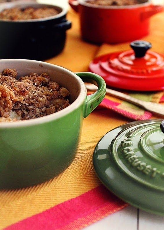 Cozinhadaduxa: Crumble de Marmelos com Aveia e Mel