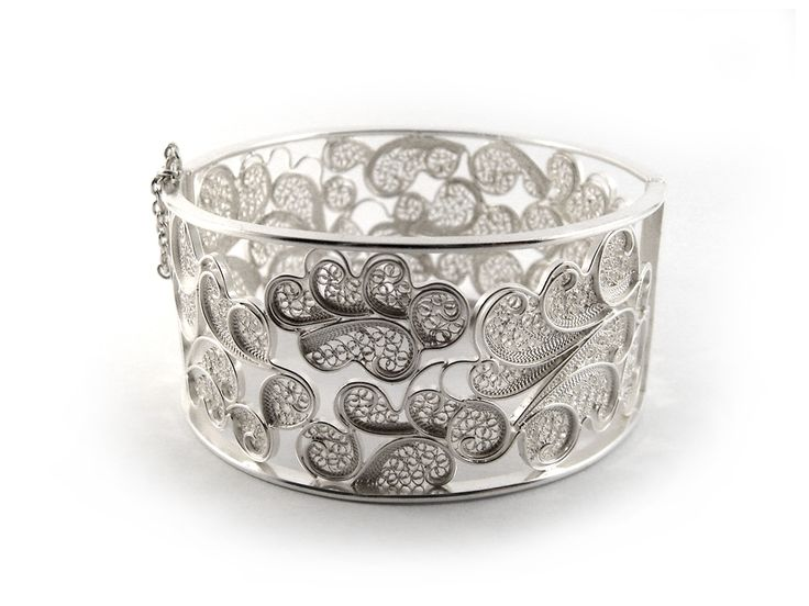 Clouds Cuff Bracelet  Material: sterling silver
