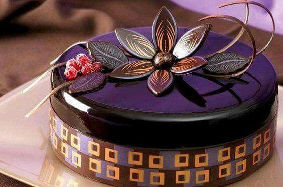 Miroir violet noir