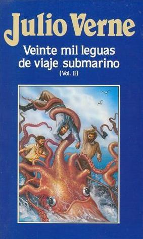 Portada de libro de Julio Verne
