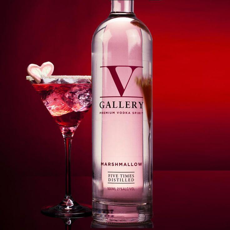 Der unvergleichliche Marshmallow Wodka mit genau der richtigen Mischung aus Schärfe und Süße.