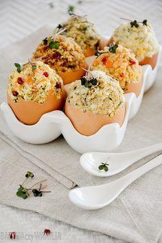 Jajka faszerowane na sześć różnych sposobów