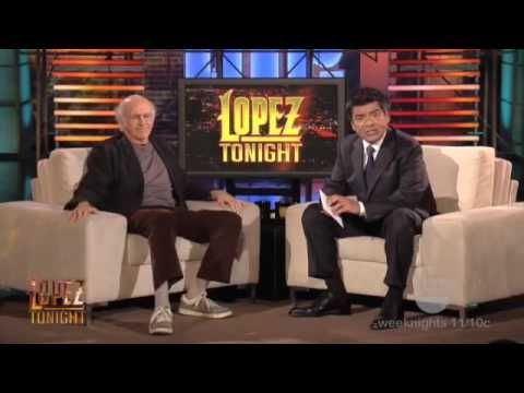 Larry David Gets an Ancestry DNA Test On George Lopez! Shocking Result - YouTube