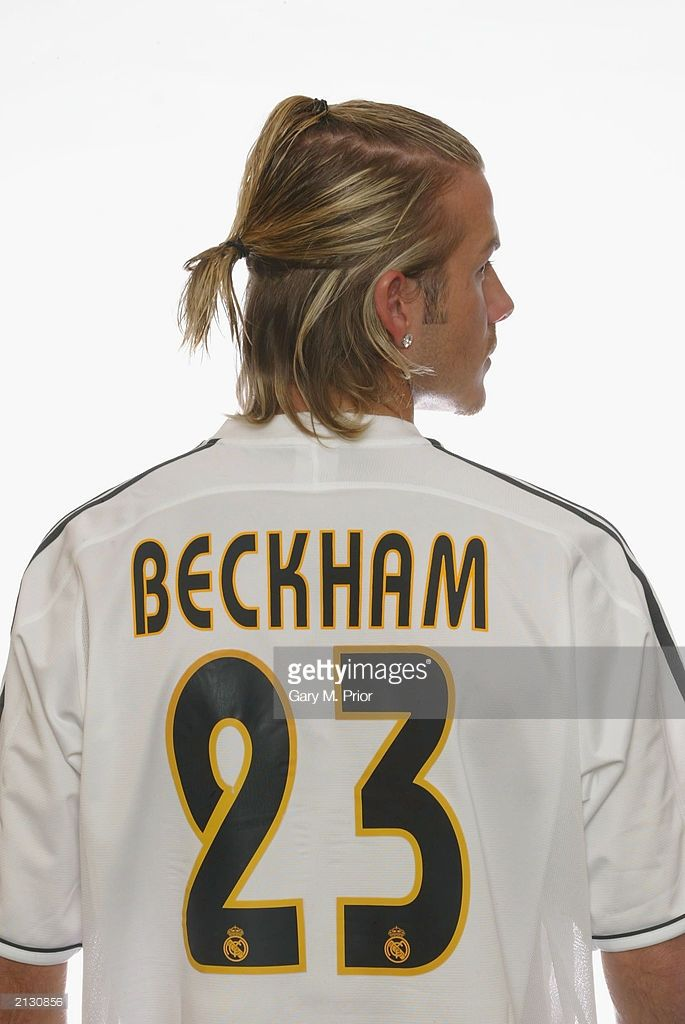 beckham shirt number