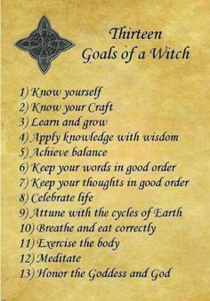 Wiccan Rede Printable A witch, witches and wiccan on pinterest