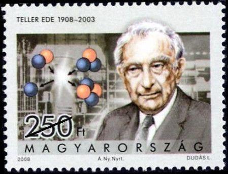 #4100 Hungary - Edward Teller, Nuclear Physicist (MNH)