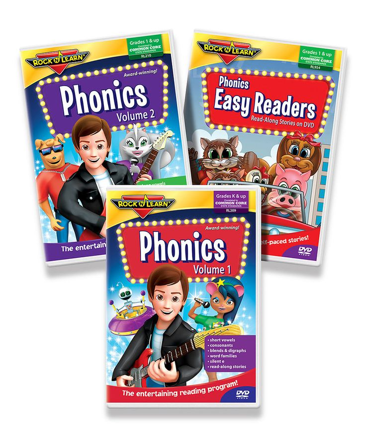 Rock 'N Learn Phonics DVD Set Review and Giveaway [CLOSED ...
