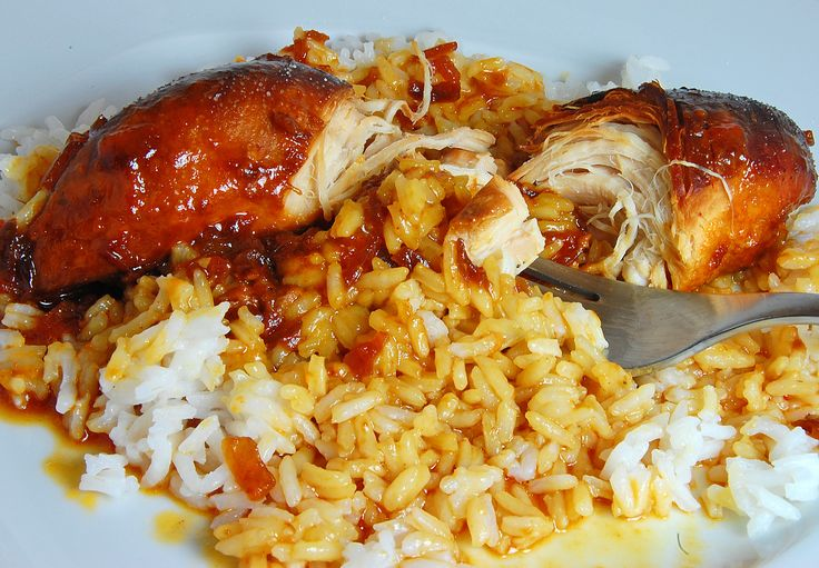 Apricot & French Dressing Crock Pot Chicken......  Super easy AND dee-lish!!
