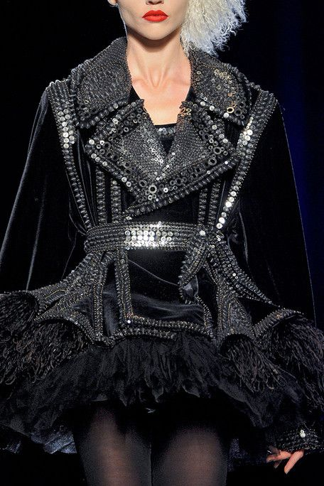 jean paul gaultier, fall 2011